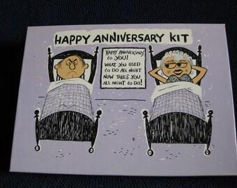 Gag Gift - Happy Anniversary Kit