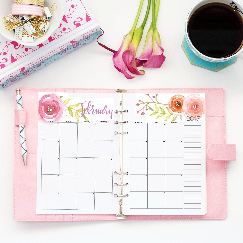 2018 fillable calendar