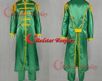 Sgt.Pepper's Lonely Hearts Club John Lennon Cosplay Costume