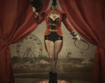 The Ringmaster - LIMITED EDITION, Matted Print, Surreal, Whimsical, Fine Art Photography