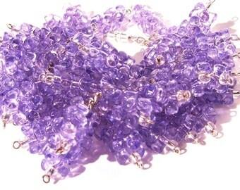 Fun Playful Lavender Cluster Style Bracelet