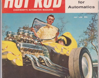 July 1958 Hot Rod Magazine