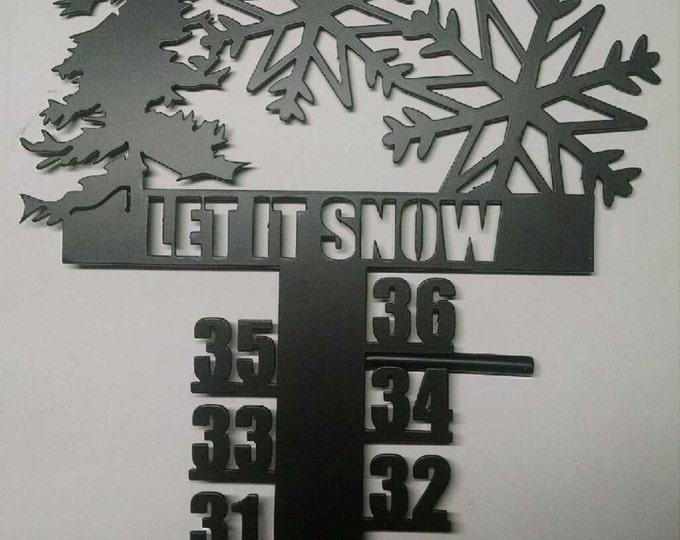 Snowflake Snow Meter