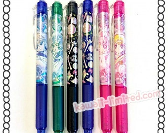 Japan Sailor Moon Pilot Frixion 0.5mm erasable roller ball pen Color pen, gel pen for DIY scrapbook deco, painting