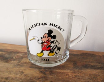 Vintage Magician Mickey Mouse Cup