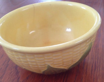 Shawnee Corn pottery bowl 6x3