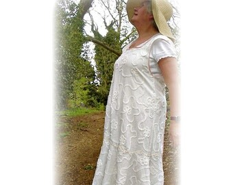 Vintage 1930s apron / dress / PDF / downloadable/ sewing pattern by Verity Hope - one size