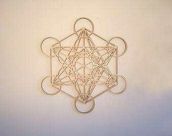 Metatron's Cube wall decoration