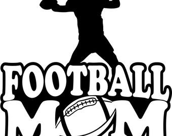 Football Mom Hoodie/ Football Mom Sweatshirt/ Football Mom Clothing/ Football Mom Gift/ Football/ Football Mom Hoodie Sweatshirt Many Colors