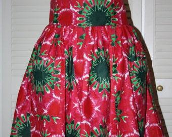 Skirt waist high model jewelry
