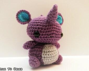 Crochet Nidoking Inspired Chibi Pokemon