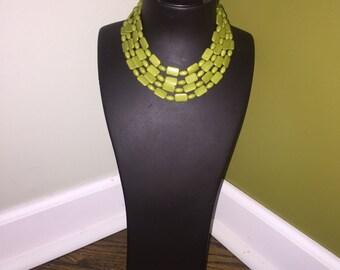 4 strand vintage necklace