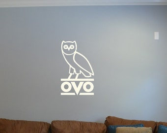 Drake OVO Owl Wall Decal // Car Decal