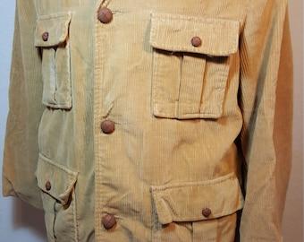 FREE  SHIPPING  Vintage Retro Men Corduroy Jacket