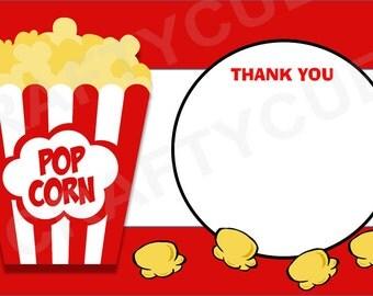 Popcorn thank you – Etsy