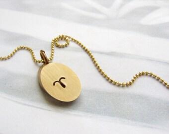 Personalized jewelry, Aries necklace, zodiac necklace,April birthday bridesmaid jewelry, Personalized necklace Personalized gift for her