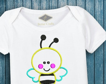 50% OFF Baby Bee | Machine Embroidery Applique Design 4 Sizes