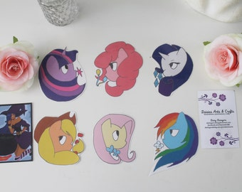 My Little Pony Friendship Is Magic Stickers