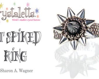 SPECIAL!!! Kit Get Spiked Ring
