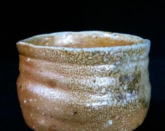 natural ash glaze chawan
