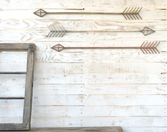 Arrow Wall Decor, Arrow Wall Hanging, Metal Decor, Arrow Decor, Wall Art, Arrow, Tribal Decor, Native America, Native American Arrow, Arrows