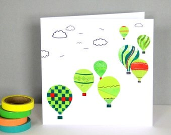 Bristol Balloons Greetings Card