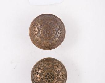 Antique Solid Caste Bronze Doorknob