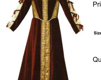 Ren fair gown