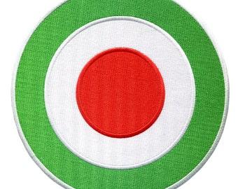 XL 8 inch MOD Target Vespa or Lambretta Patch Badge Parka