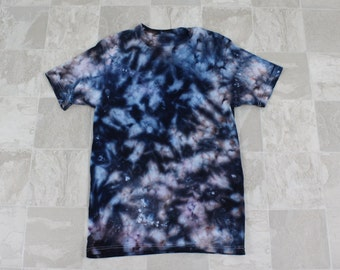 Men's tie dye shirt, Ice dyed tie dye,  Multi colored tie dye shirt, Members Mark brand tie dye, Size M men's T-Shirt, M-2