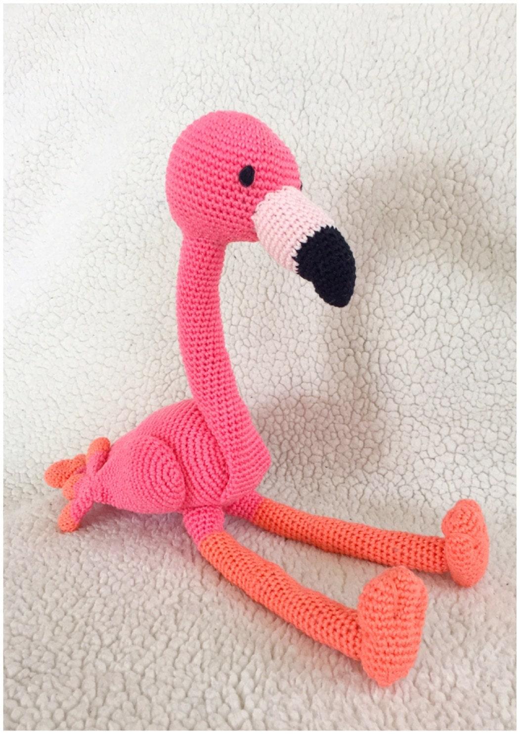 Flamingo amigurumi pattern tutorail crochet pattern pdf ...