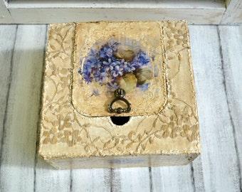 Wedding card box,Wedding keepsake box,Wedding reception decoration,Wedding memory box,Personalised memory box,Violet wedding box,Purple box