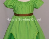 Peter Pan Inspired Dress