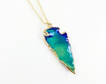 AURORA - arrowhead arrowhead necklace