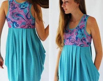 Girls dress pattern, girls sewing pattern, tween dress pattern, girls stretch pattern, girls dress pattern, girls pdf pattern, DARCY DRESS