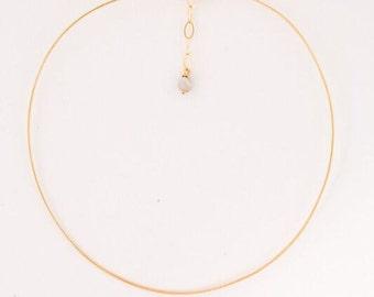 Allegra Fanjul Gold Wire Choker