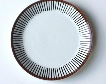 Lovely vintage Spisa Ribb side plate design by Stig Lindberg for Gustavsberg.