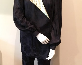Vintage Odicini Gold & Black Tux