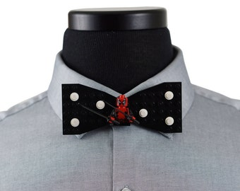 iron man bow tie by bowspoke on etsy. Black Bedroom Furniture Sets. Home Design Ideas