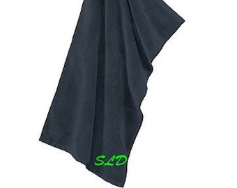Monogrammed Grommeted Microfiber Golf Towel FREE SHIPPING