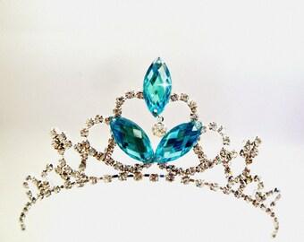 FROZEN ELSA CROWN, Kids crown,Elsa Tiara, Frozen tiara, Girls Tiara Headband,Rhinestone frozen Elsa Crown,Queen Elsa Tiara, Cinderella Tiara