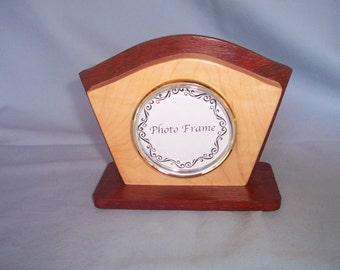 Art Deco Photo Frame-Desk Photo Frame-Wooden Frame-Birthday Gift