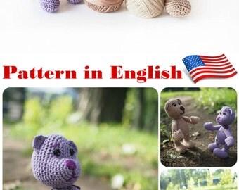 amigurumi doll body pattern, base model little doll ...