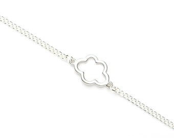 Cloud Bracelet | Silver Plated Cloud Bracelet | Cloud Charm Bracelet | Weather Jewellery