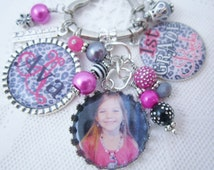 PERSONALIZED KID GIFT, Personalized daughter Jewelry, Personalized Neice Jewelry, Personalized Kid Jewelry, Personalized Kid Zipper Pull