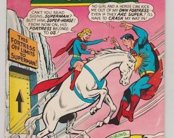 Action Comics; Vol 1, 336 Silver Age Comic Book.  VF- (7.5). April 1966.  DC Comics