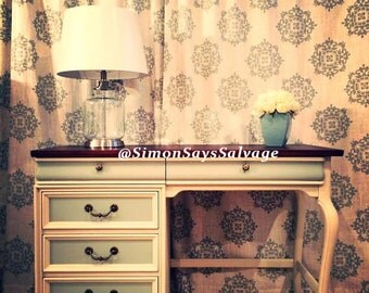 French Provincial Lexington Desk, Vintage Desk, 1960's table, Vintage Furniture