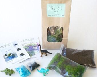 Dinosaur Terrarium Kit