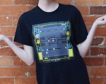 Pac-Man Video Game Vintage T-Shirt