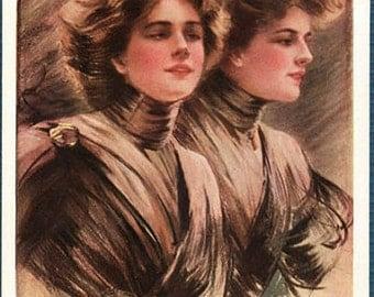"1910 ""Anticipating"" Philip Boileau Postcard"